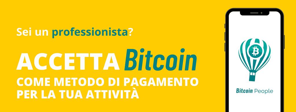 accettare pagamenti in bitcoin