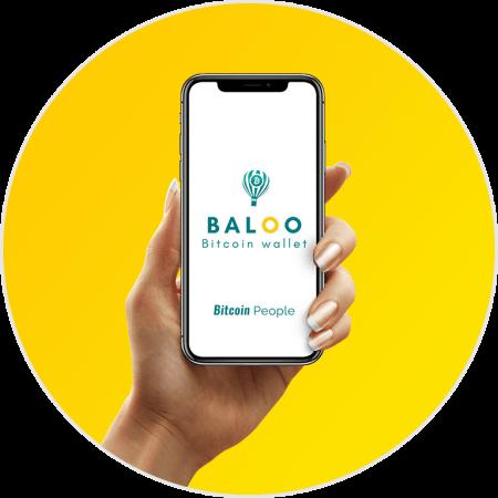 smartphone bitcoin people app baloo